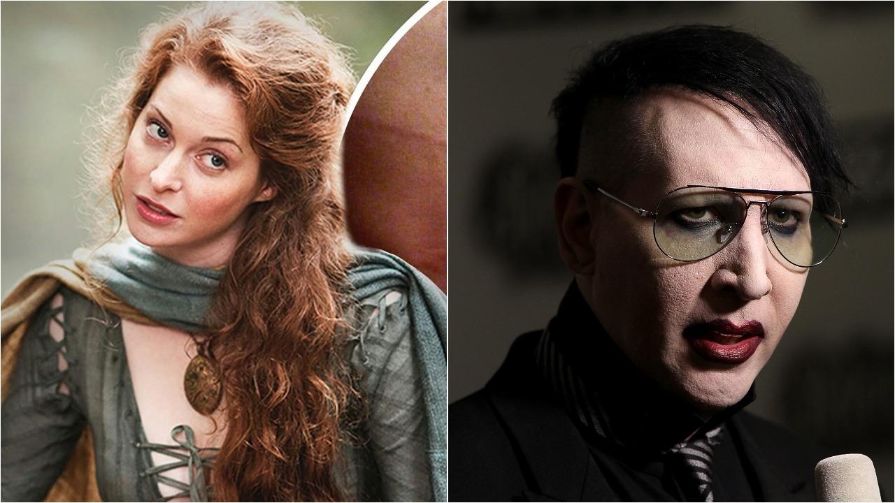 Actriz Game Thrones Demanda Marilyn Manson