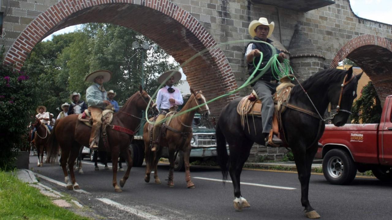 Las cabalgatas son declaradas Patrimonio Cultural e Inmaterial de Tlaxcala