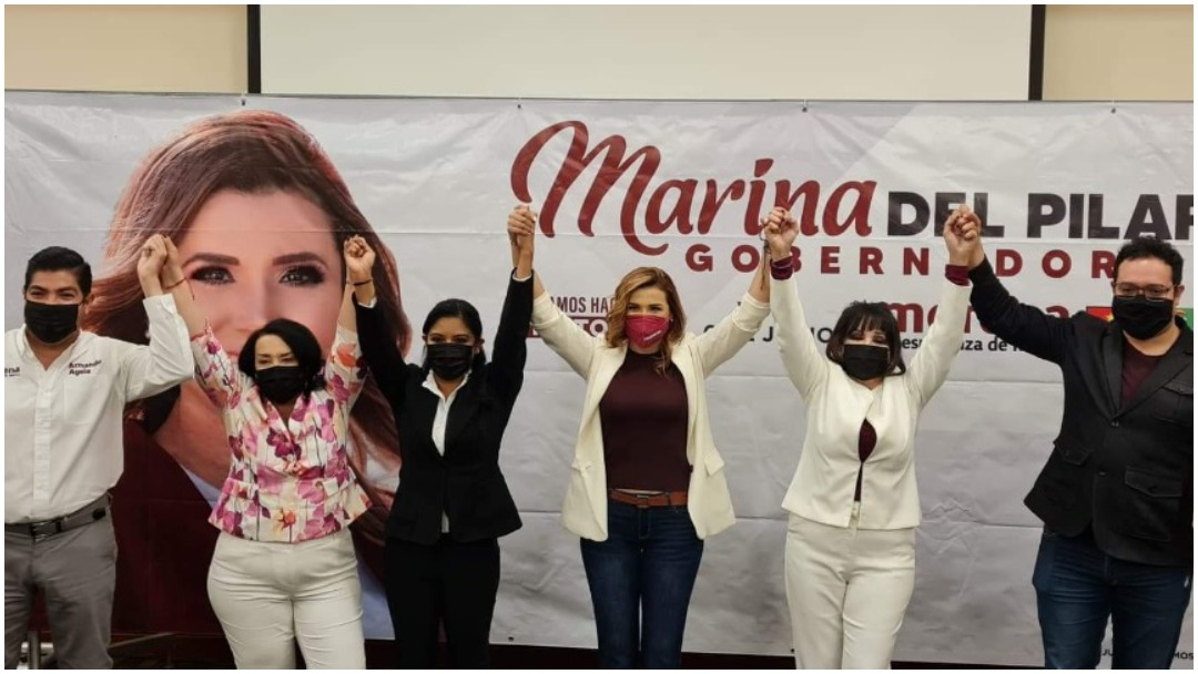 Marina del Pilar candidata a gubernatura de Baja California llama a unión de coalición para triunfo