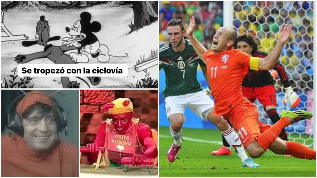 Mejores memes de las caídas en la ciclovía de Puebla