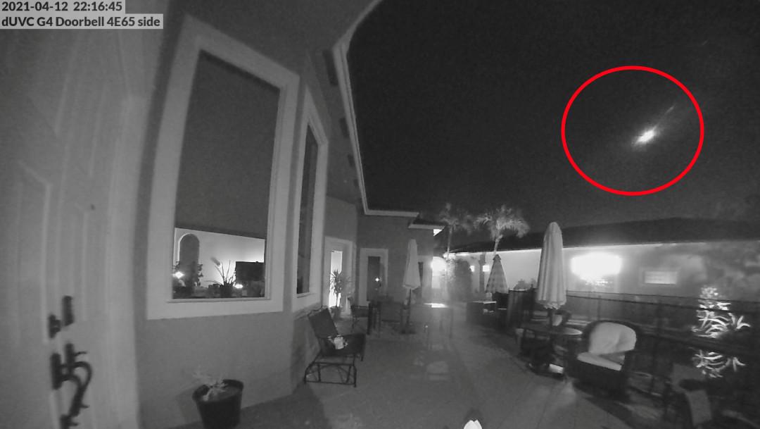 meteoro, Florida, explosión, astronomía, Twitter