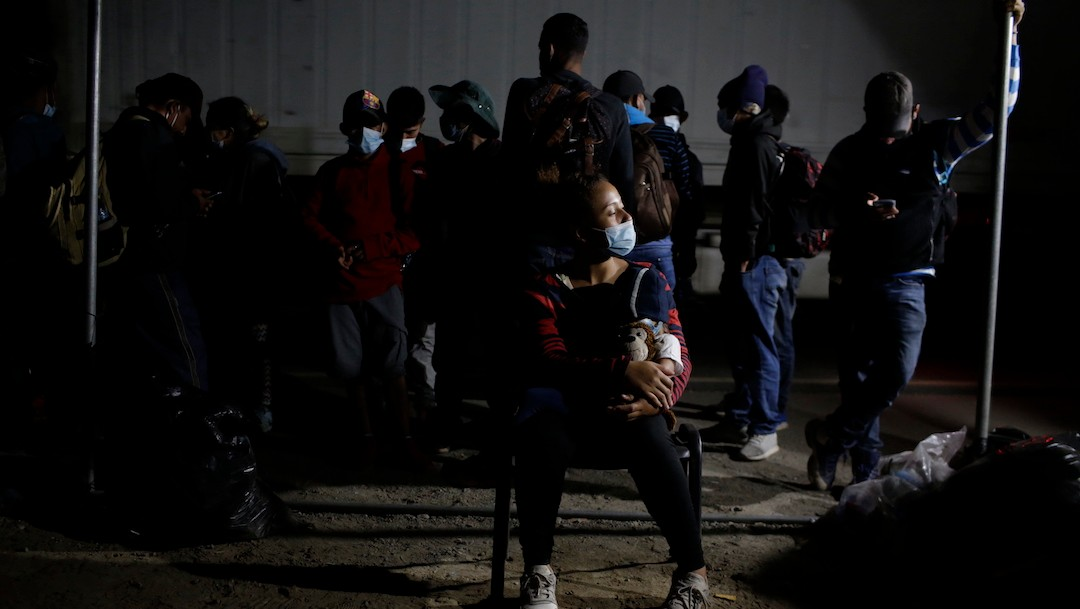 Caravana de migrantes hondureños (Getty Images)
