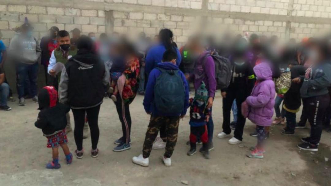 Rescatan a 136 migrantes, 19 eran menores, en Tlaxcala
