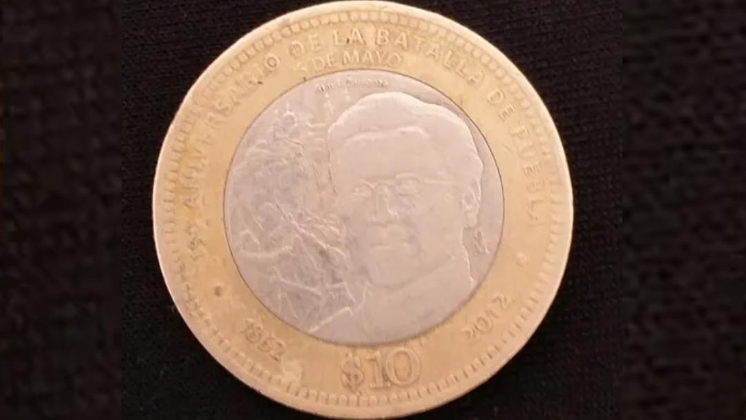 Moneda de Batalla de Puebla se vende por 15 mil en internet