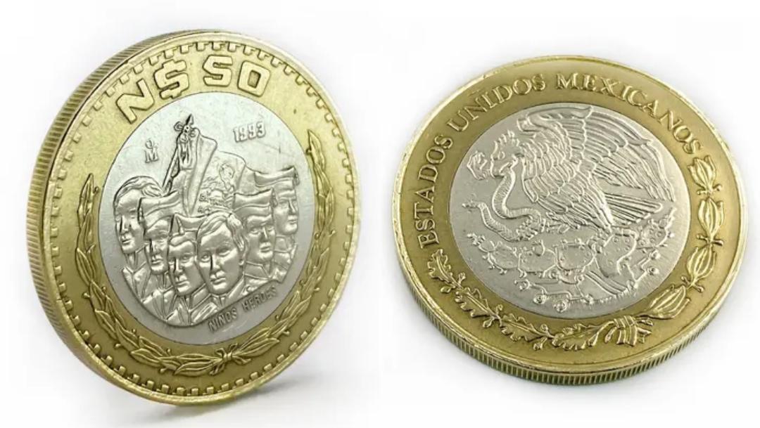 Moneda de 50 pesos saldrá de circulación, podría valer miles