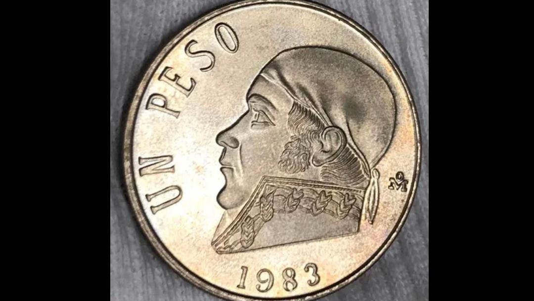 Moneda de un peso se vende en casi 10 mil pesos