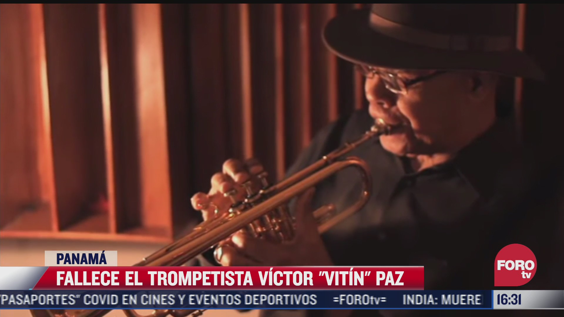 muere el trompetista vitin paz leyenda de la musica panamena
