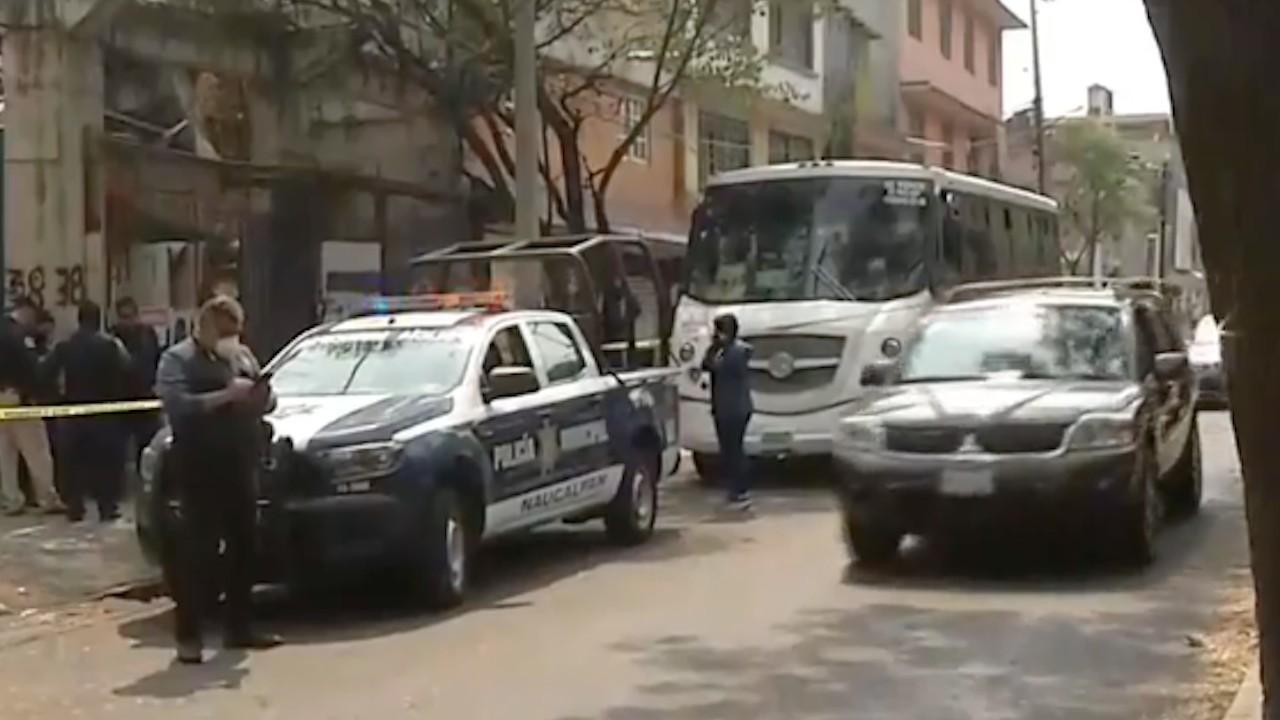 Asalto a un autobús en Naucalpan (FOROtv)