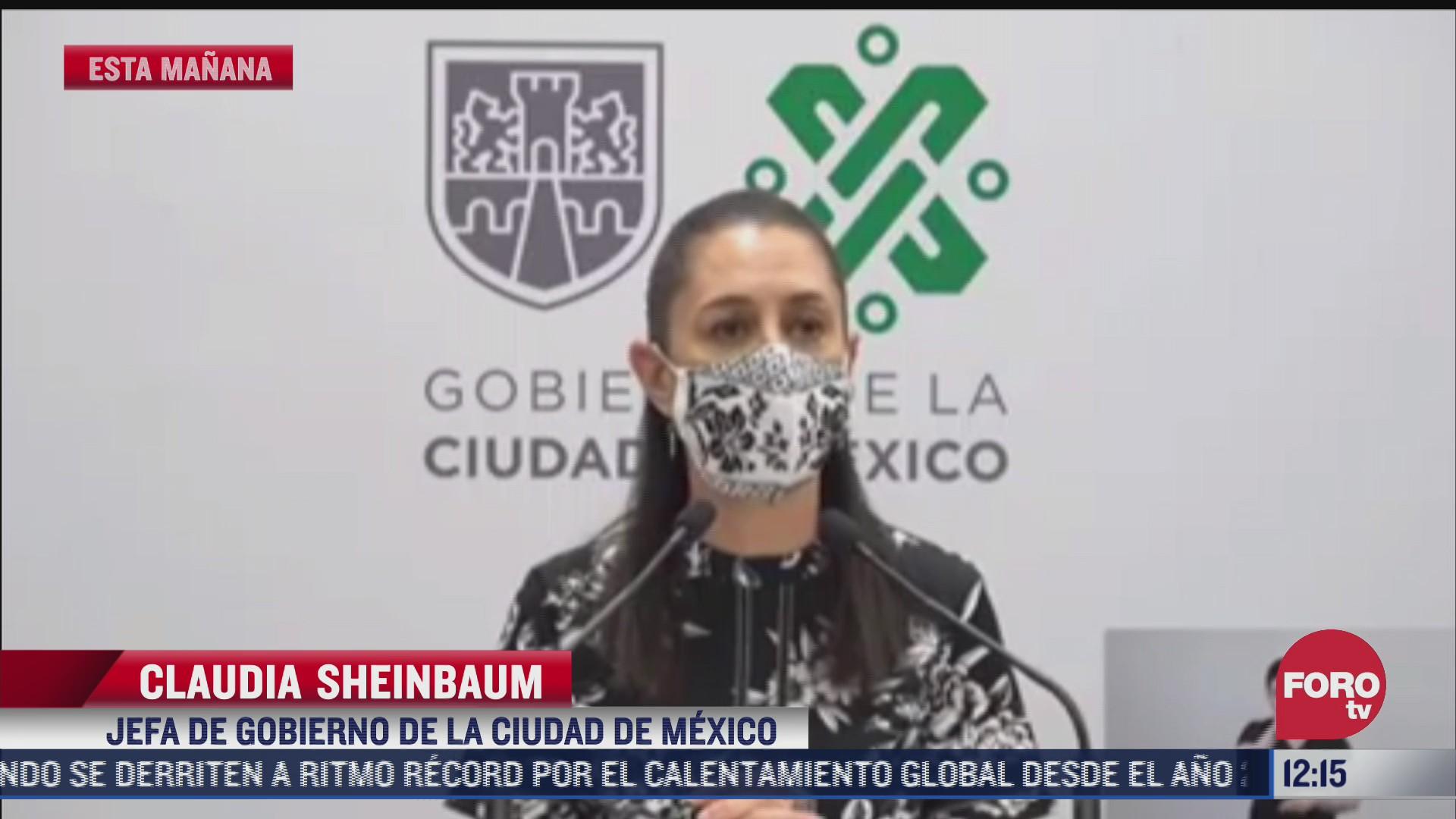 no habra impunidad en el caso saul huerta afirma sheinbaum