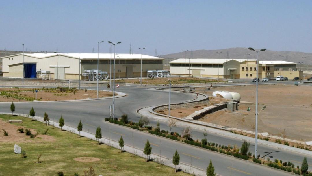 Vista de la instalación de enriquecimiento de uranio de Natanz, al sur de la capital iraní, Teherán (Reuters)