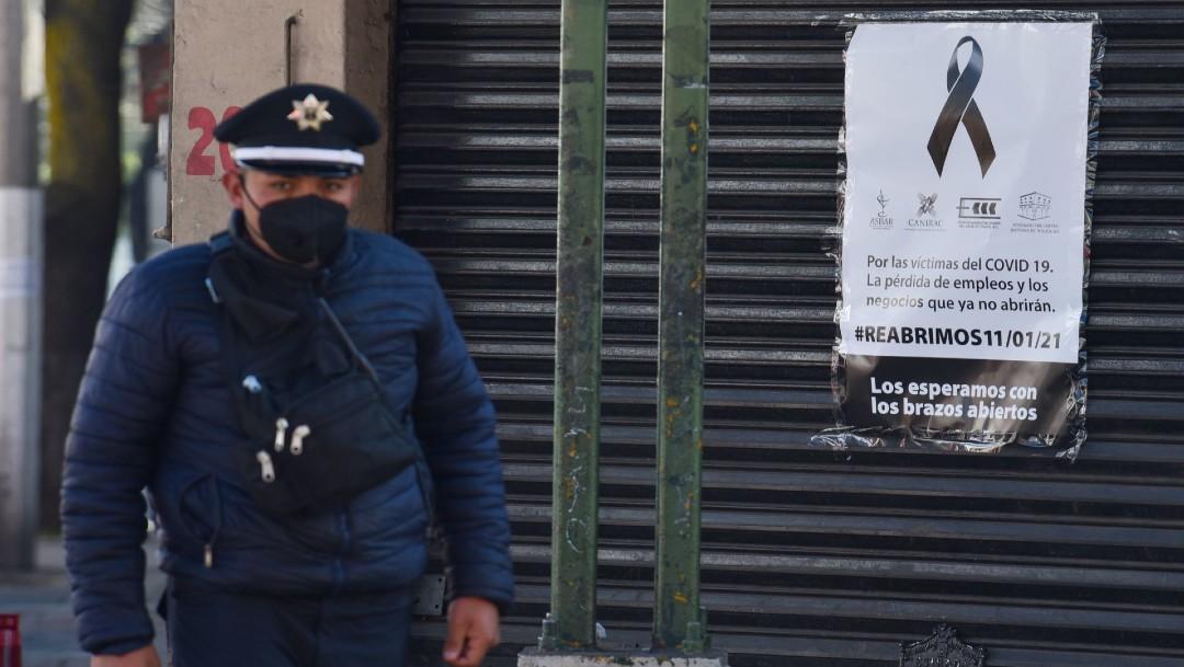Pandemia provoca el cierre de más de un millón de negocios en México