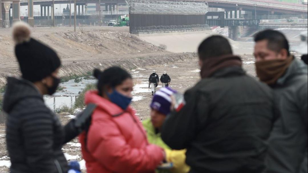 Patrulla Fronteriza detiene a migrantes en EEUU