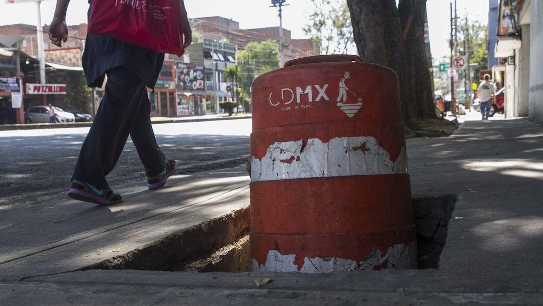 Un peatón en calles de la CDMX (Cuartoscuro, archivo)
