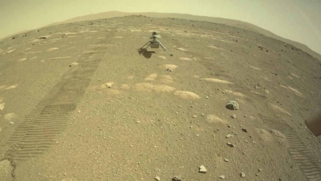 Helicóptero Ingenuity de la NASA realizará su primer vuelo en Marte el lunes
