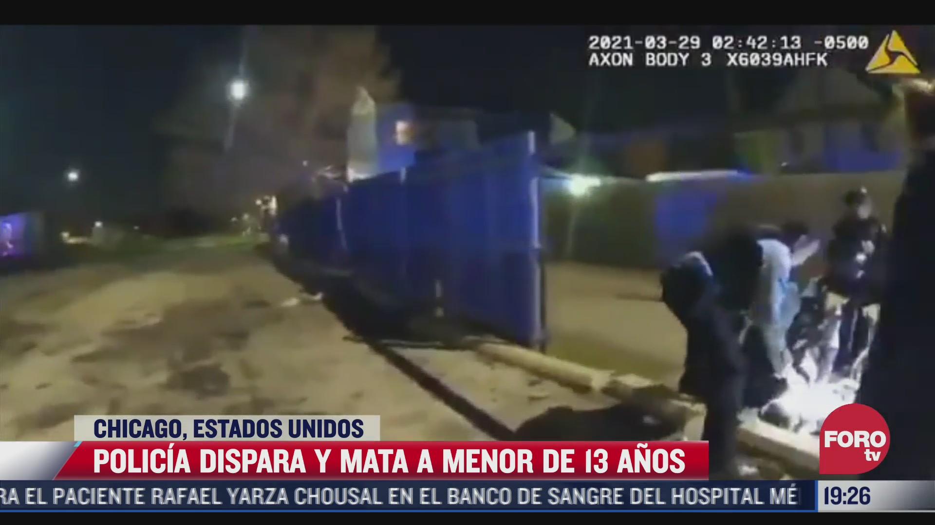 policia de chicago mata a joven hispano que tenia las manos arriba