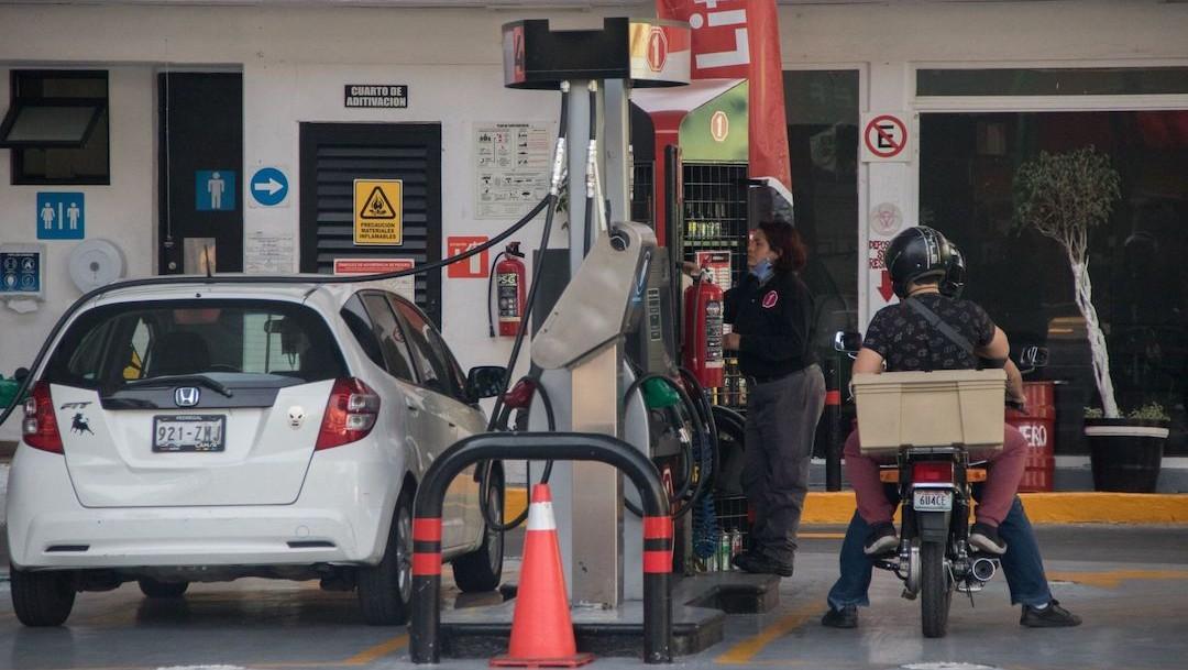 Venta de gasolina en México (Cuartoscuro)