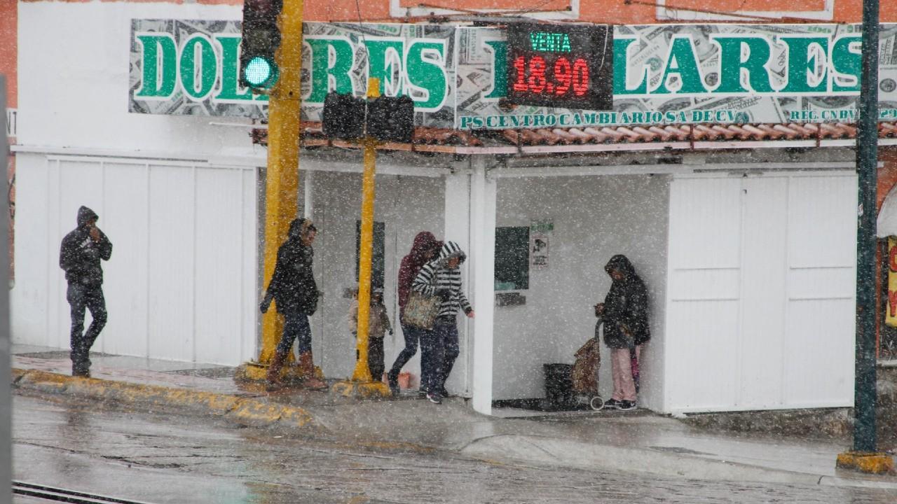 Pronostican caída de aguanieve o nieve en zonas serranas de Chihuahua y Sonora