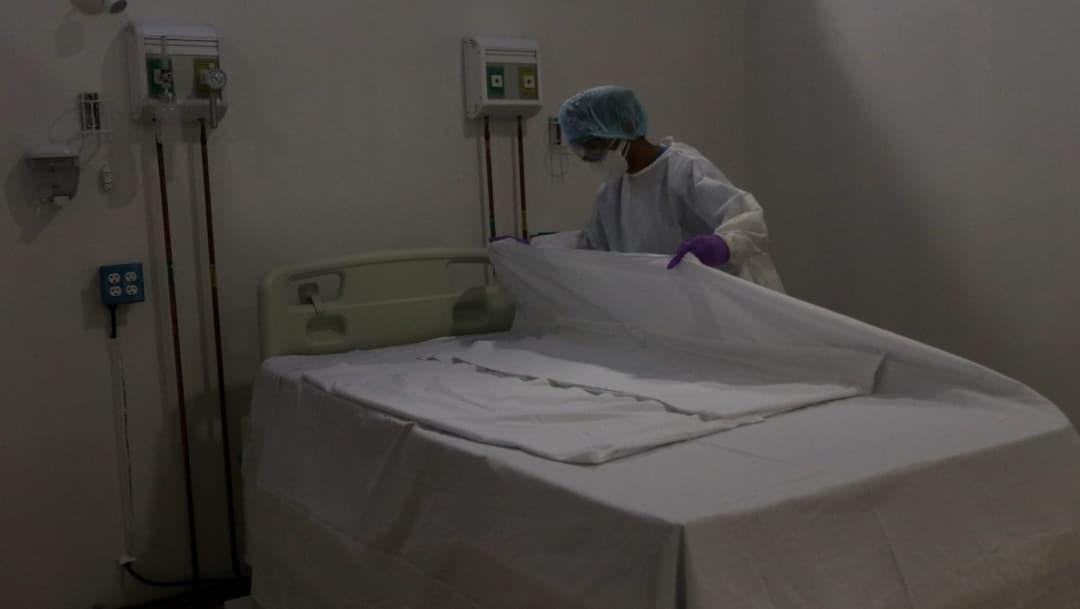 Próxima semana se espera repunte de COVID-19 en México; hay suficientes camas disponibles