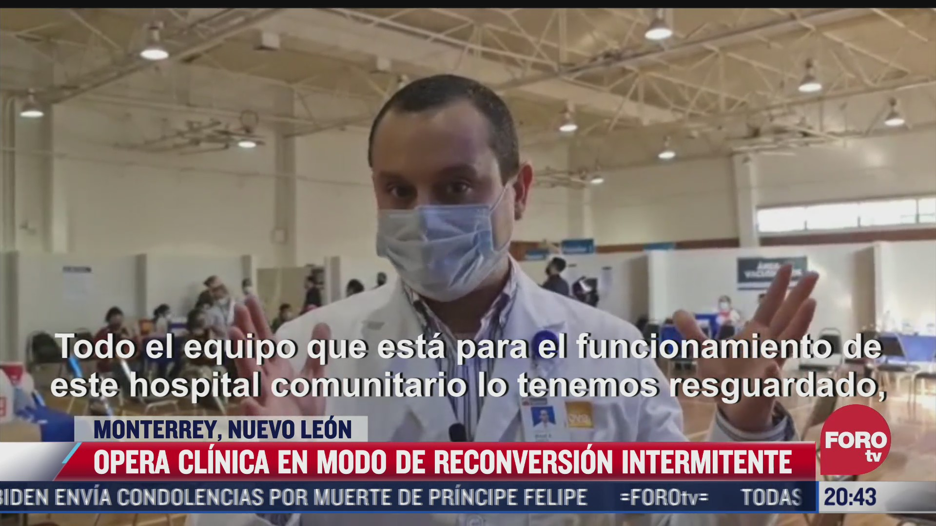 que es una clinica en modo de reconversion intermitente