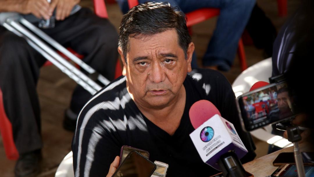 Félix Salgado Macedonio ofrece una conferencia de prensa