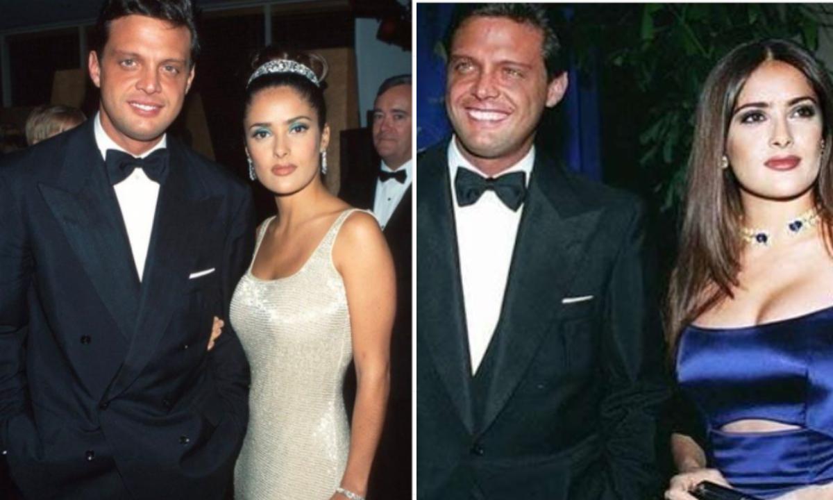 Luis Miguel acompañó a Salma Hayek en los Oscar 1997
