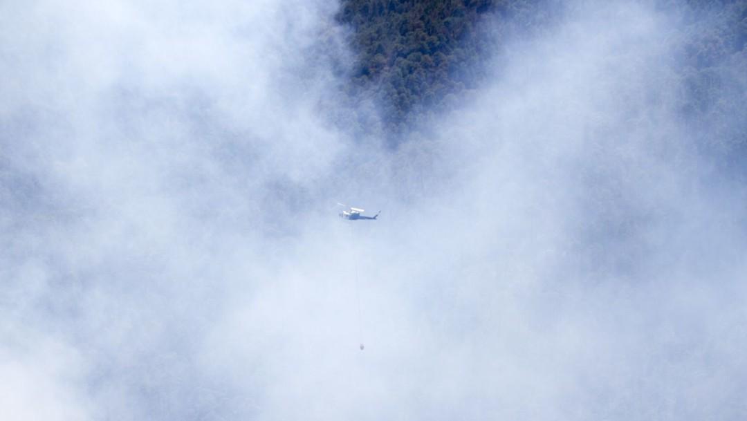 Se registra incendio forestal en el Cerro del Toro en Chilpancingo