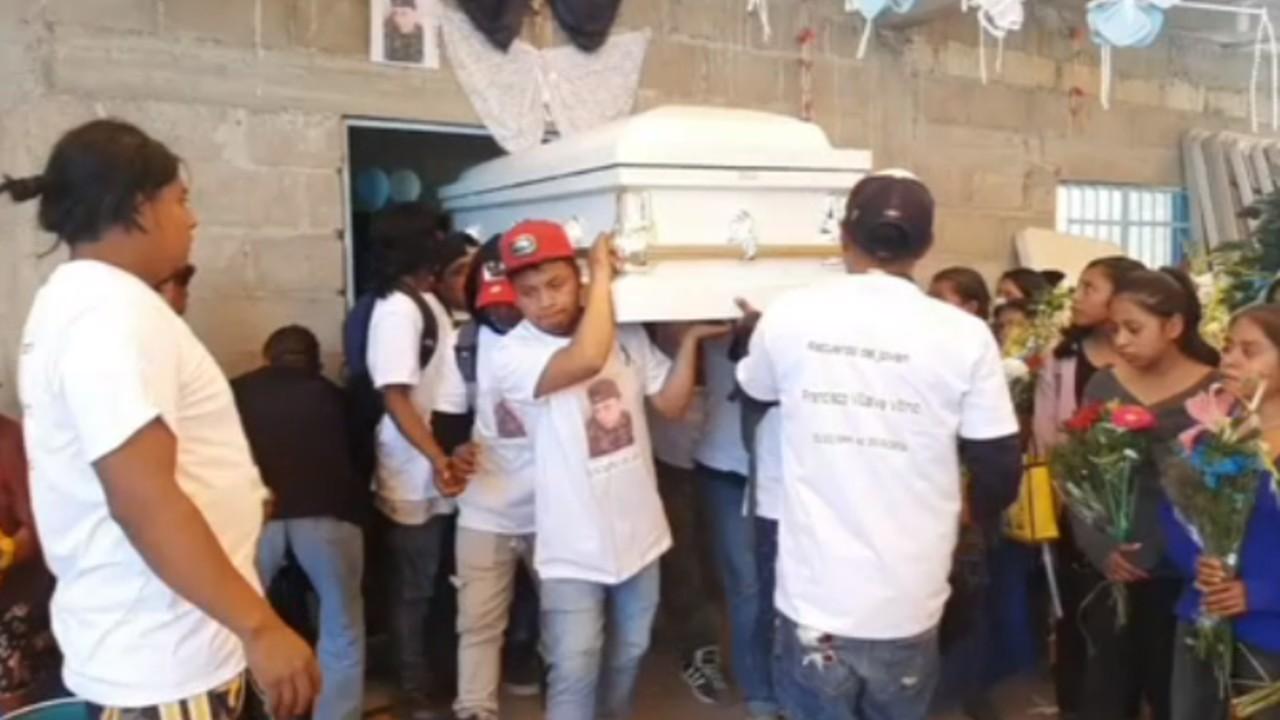 Sepultan cuerpo de migrante mexicano asesinado en Nueva York
