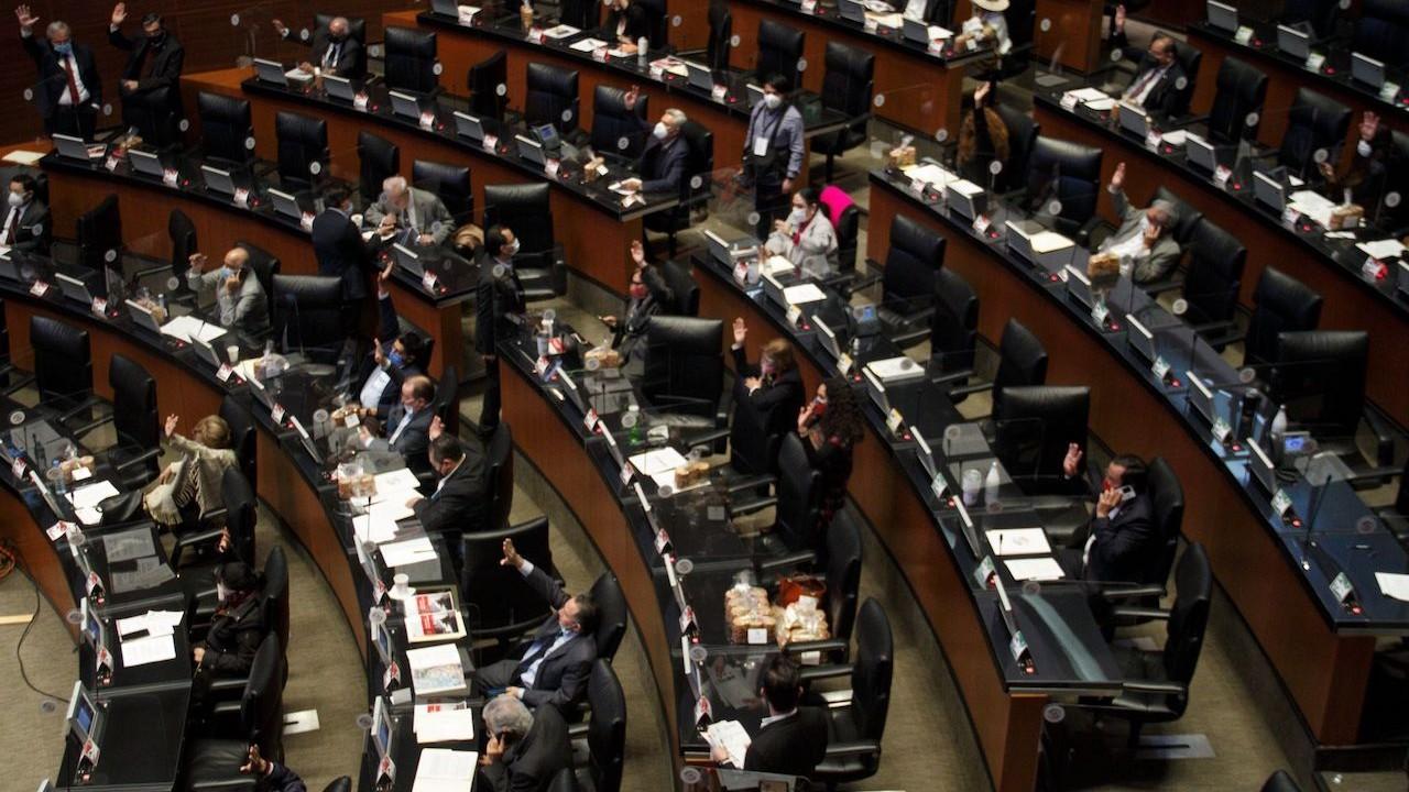 Sesión del Senado de la República (Cuartoscuro, archivo)