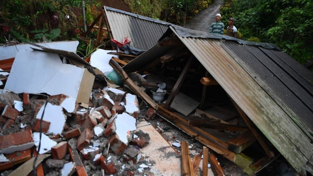 El terremoto causó daños y desperfectos en casi 1.200 casas y edificios