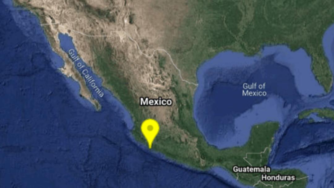 Sismo de magnitud 4.9 remece Michoacán, Colima y Jalisco