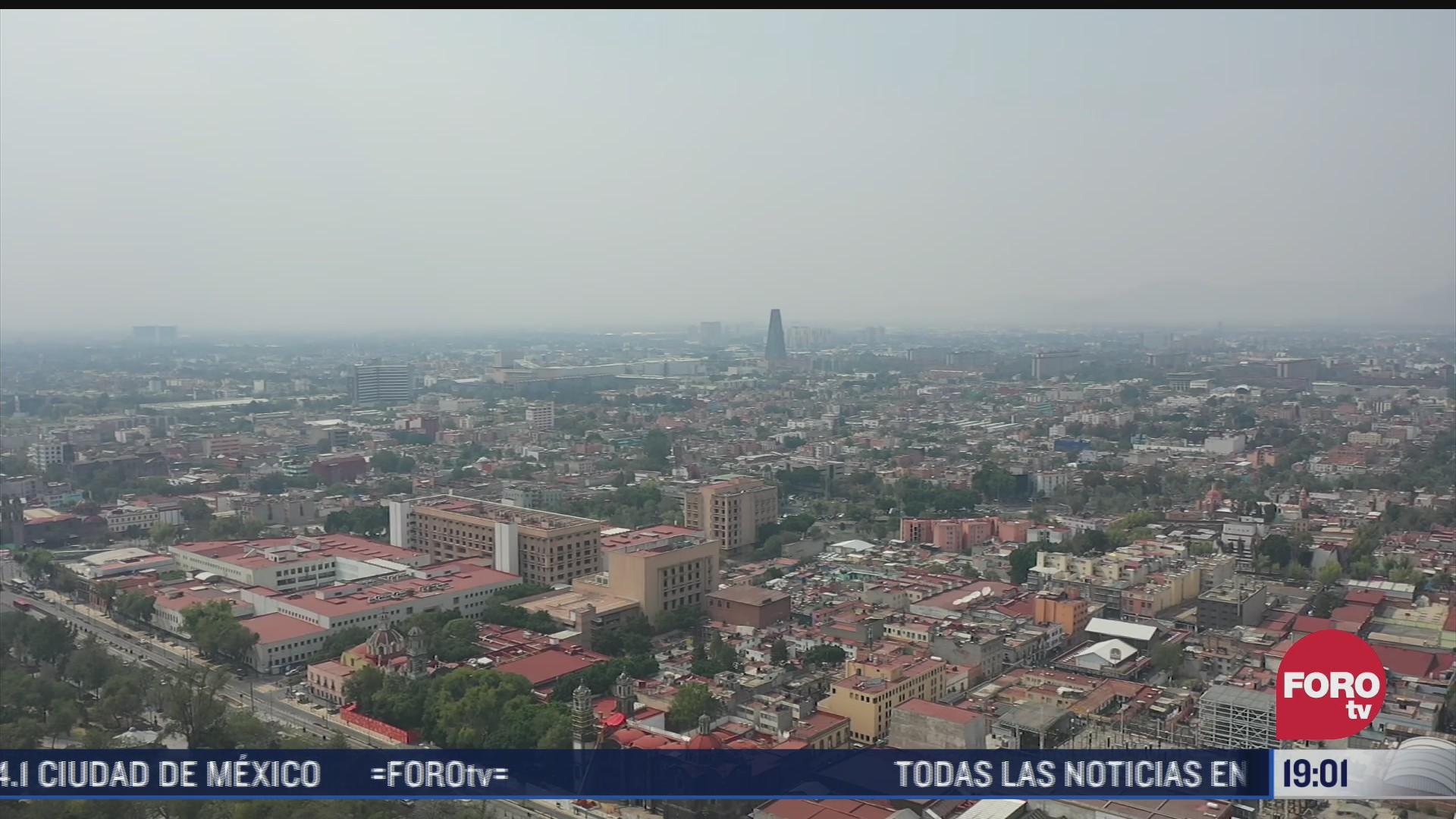 suspenden medidas por contingencia ambiental en zona metropolitana del valle de mexico
