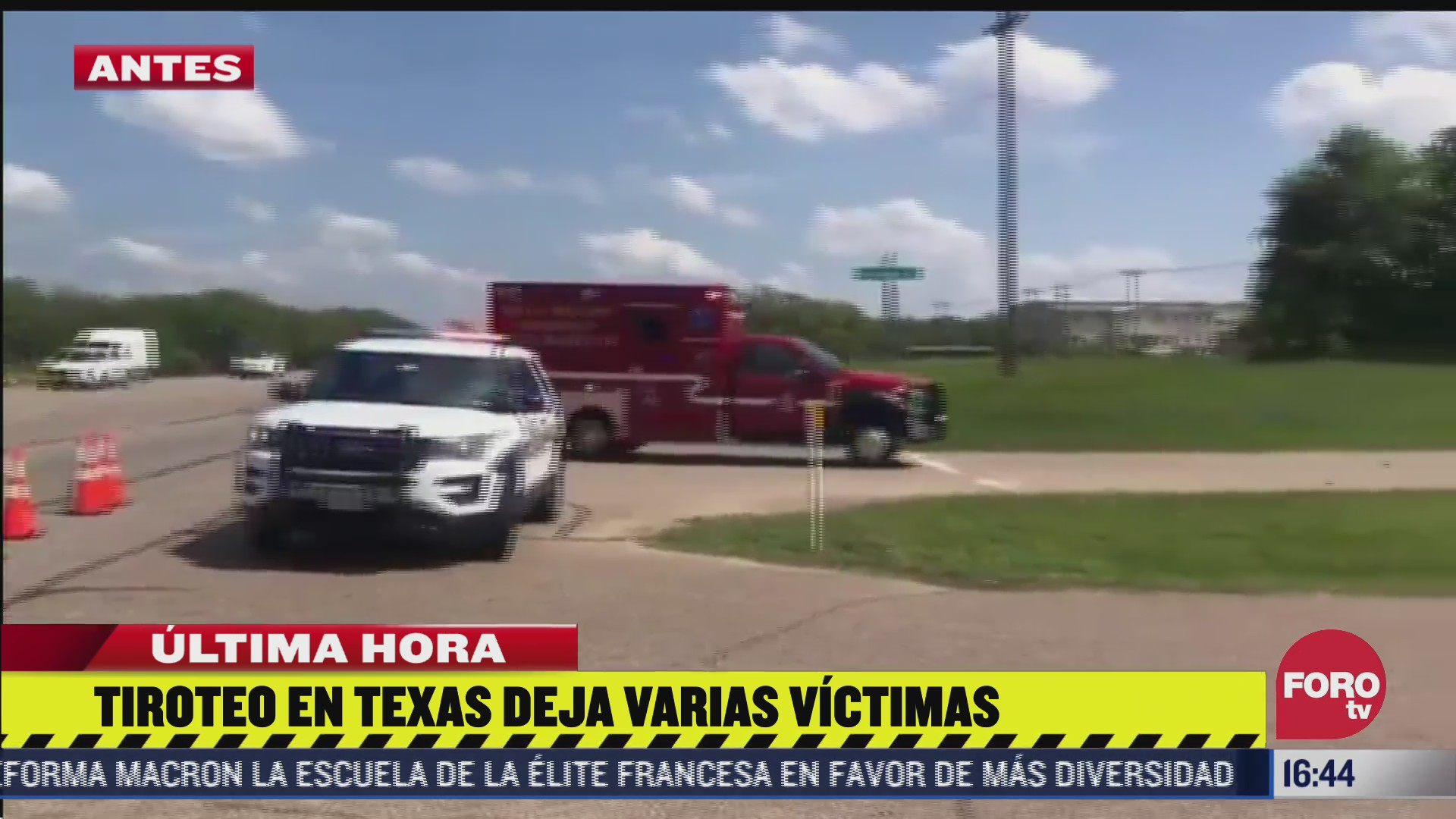 tiroteo en texas deja varias victimas