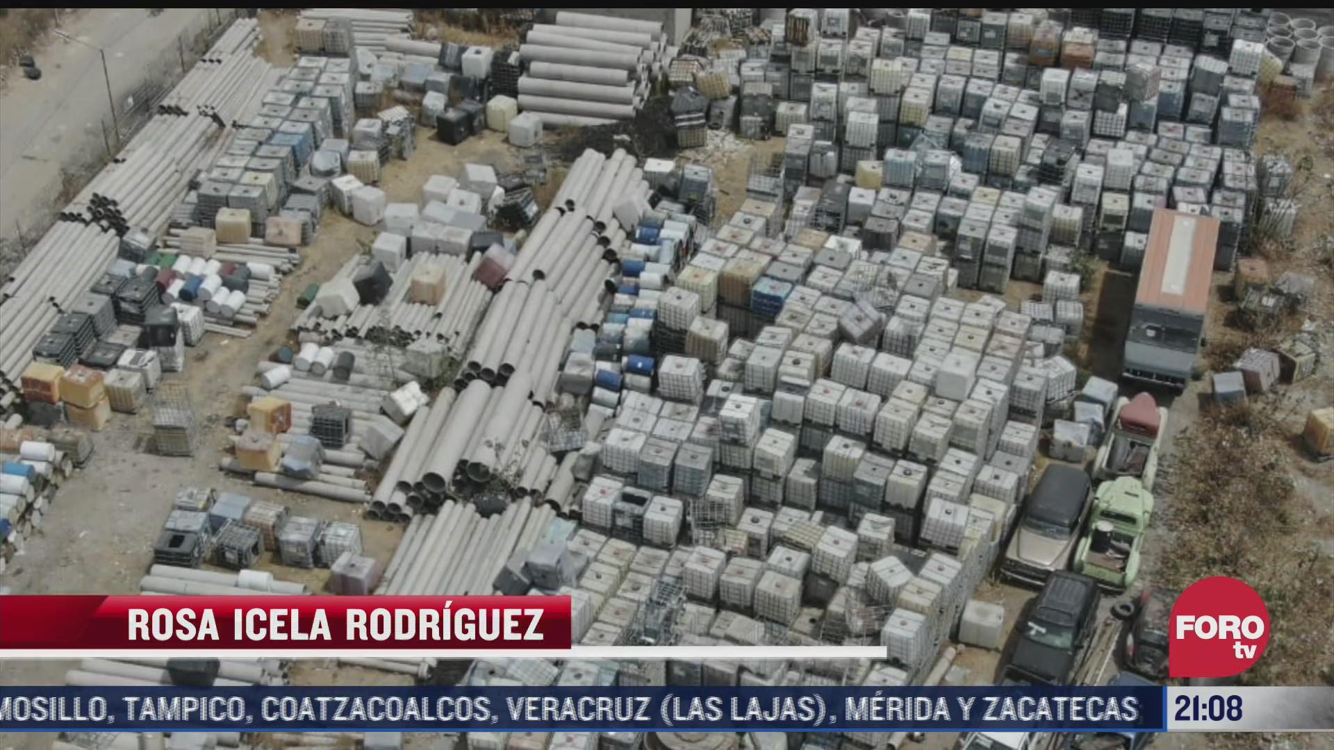 toma clandestina provoca fuga de combustible en ecatepec