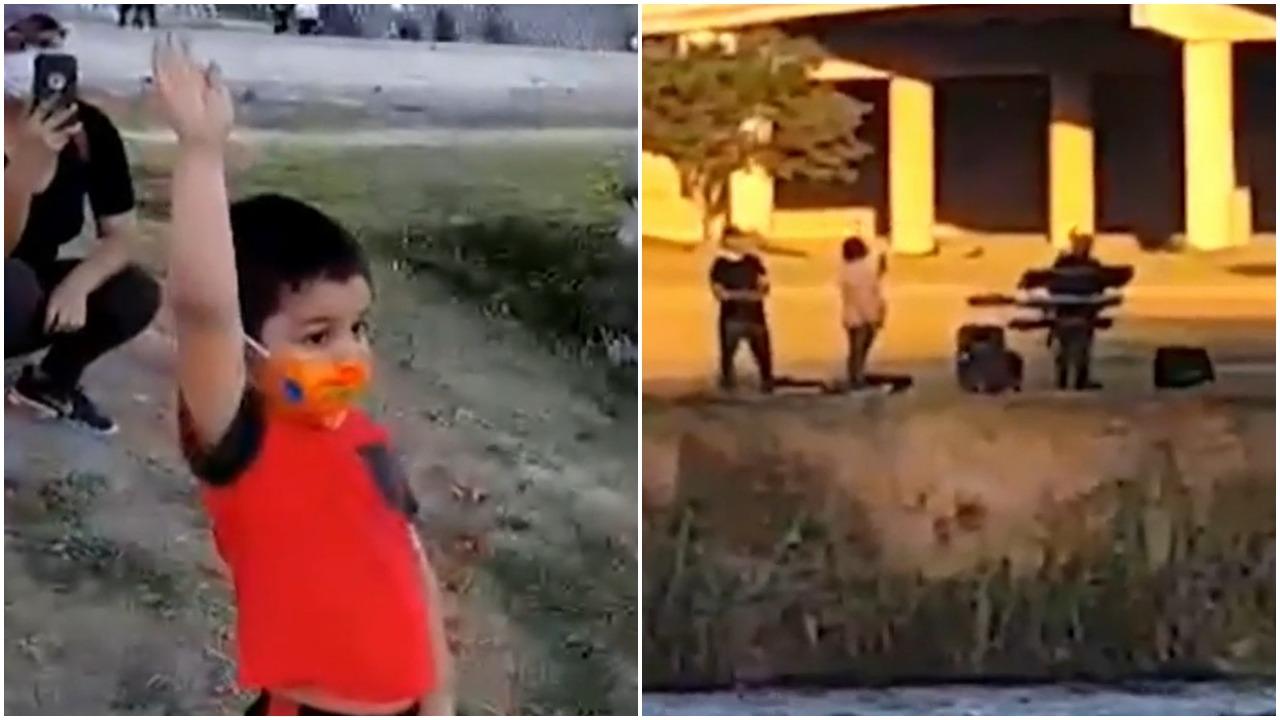 Video de abuelo cantando Las Mañanitas a su nieto en la frontera se vuelve viral en redes sociales