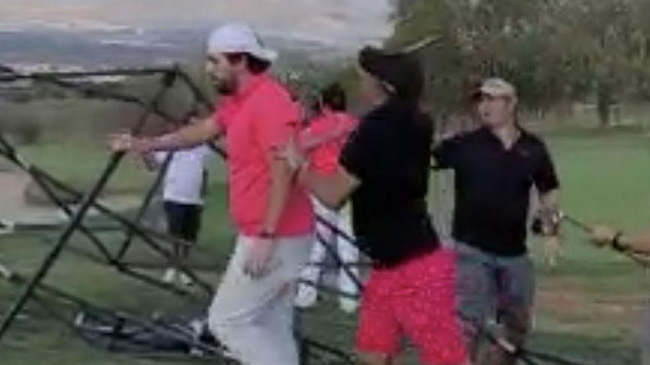Video viral golf pelea Queretaro