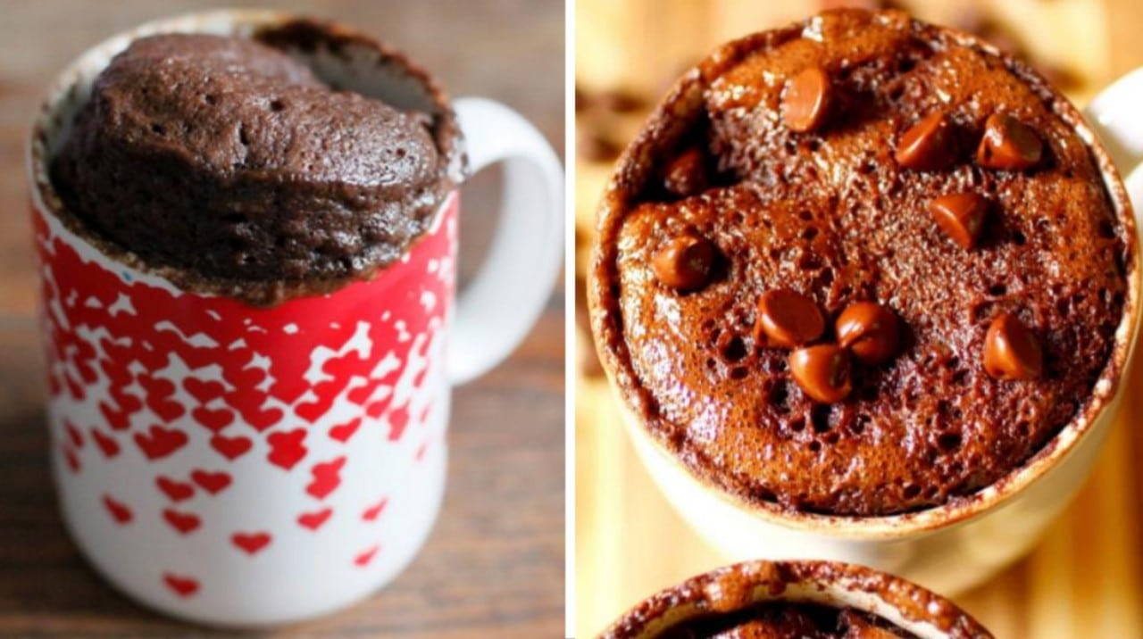 Día de las Madres: haz un mug cake de chocolate sin azúcar