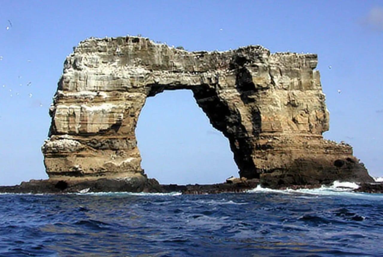 Colapso del Arco de Darwin en las Islas Galápagos