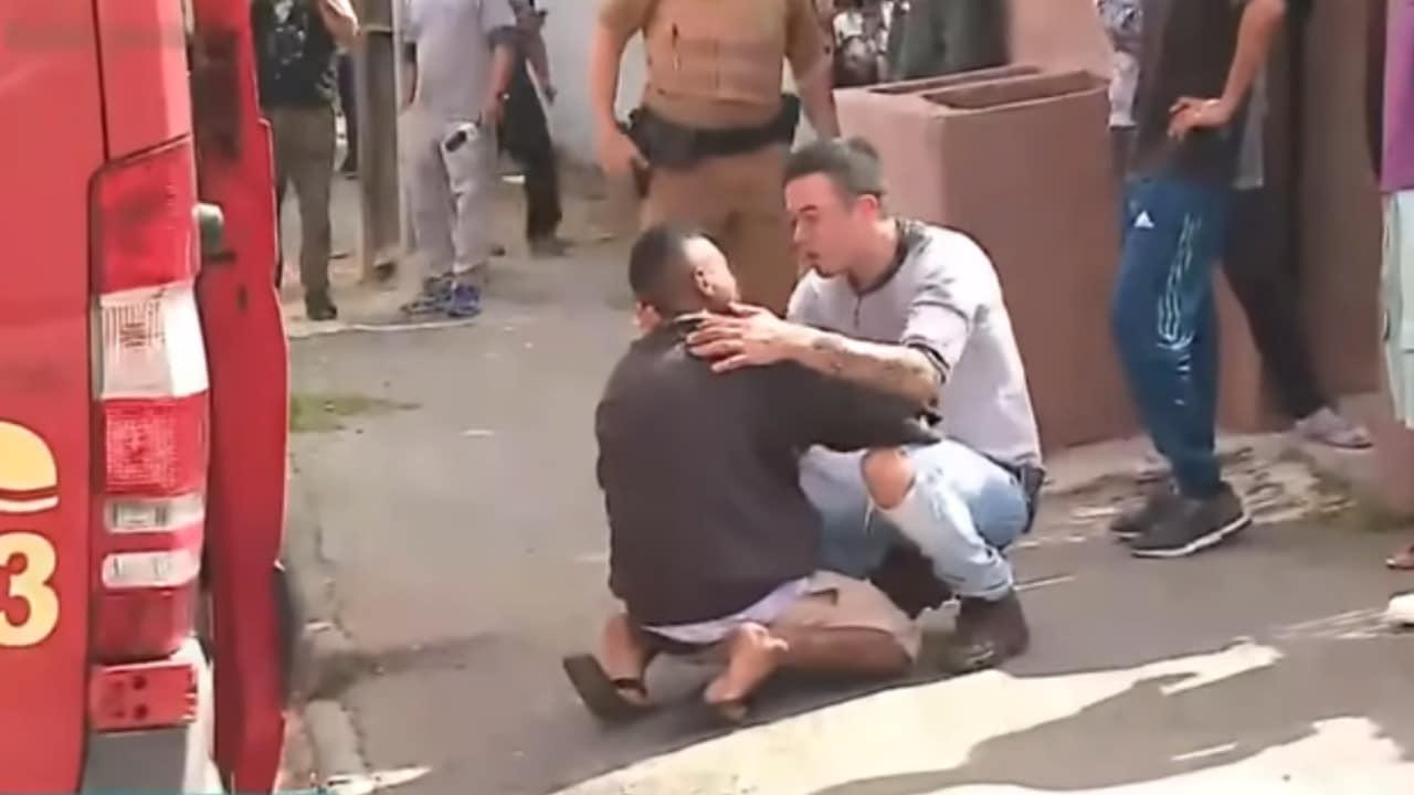 Brasil, accidentes, atropellamiento, captura de pantalla