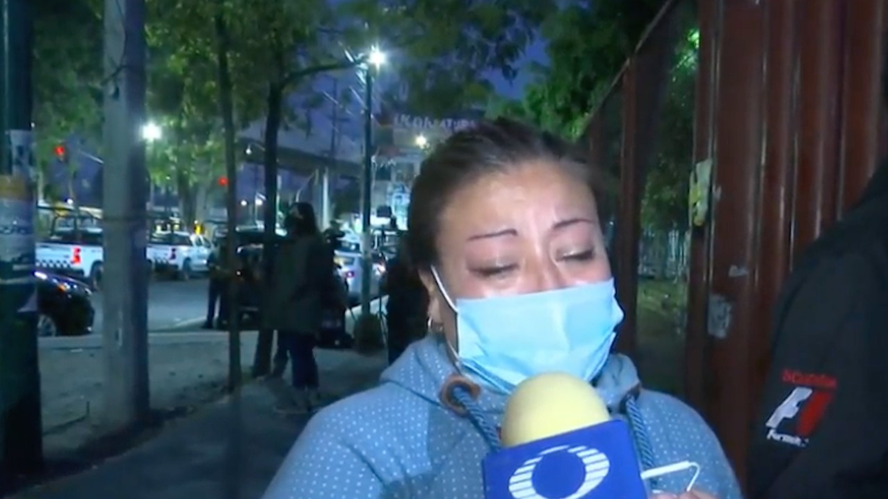Familia vive horas de angustia al buscar a joven desaparecido tras desplome en L12 del Metro de CDMX (FOROtv)
