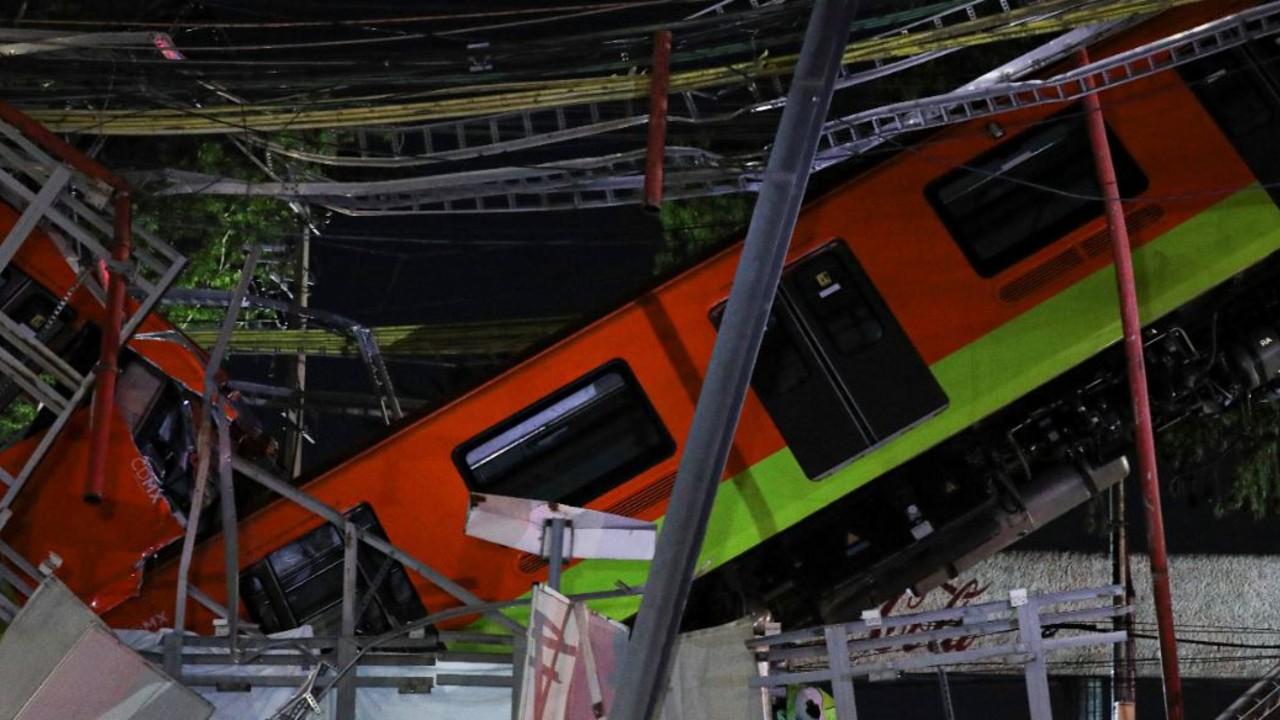 Accidente en la Línea 12 del Metro.