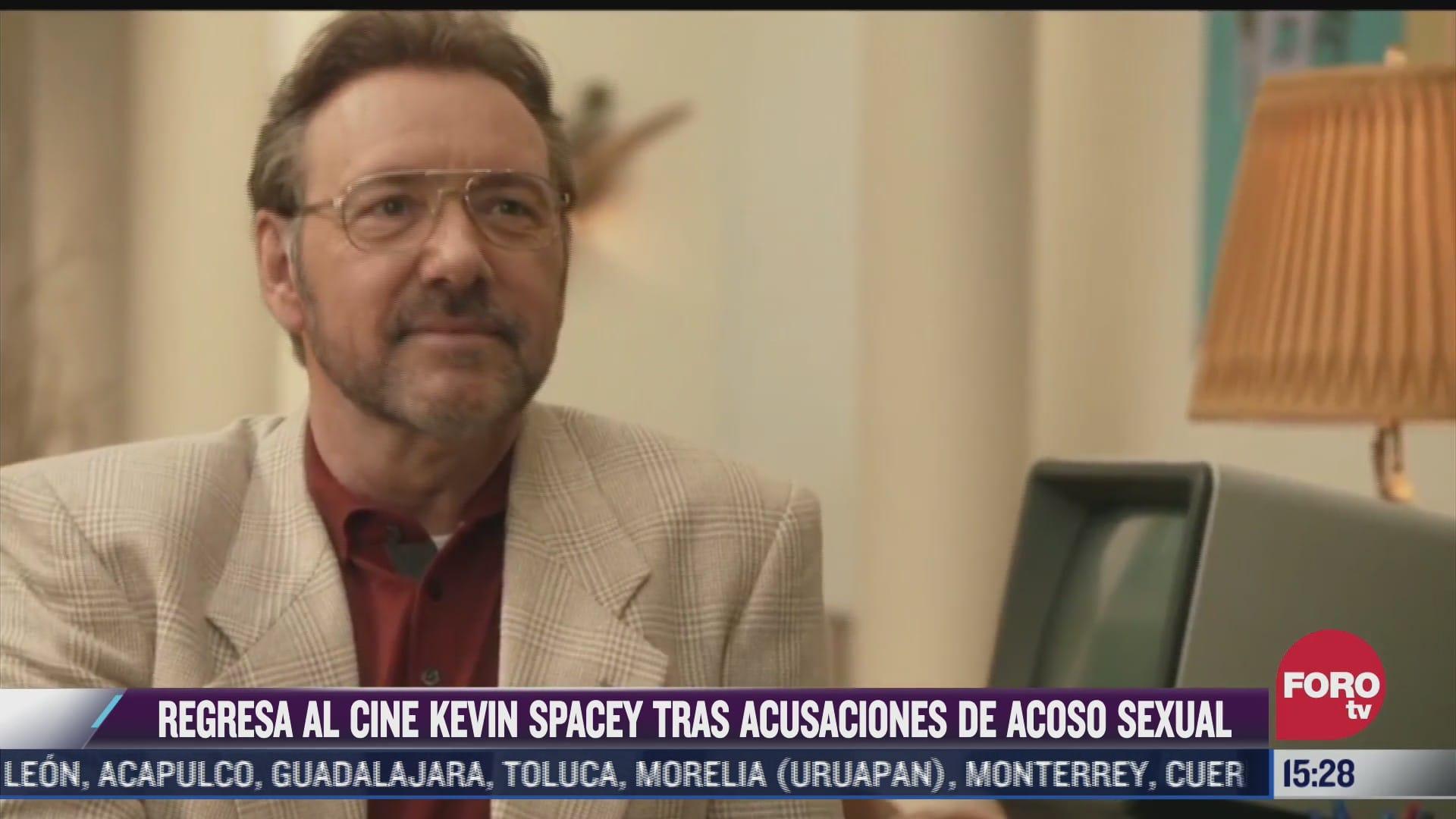 actor kevin spacey regresara al cine tras acusaciones de abuso sexual