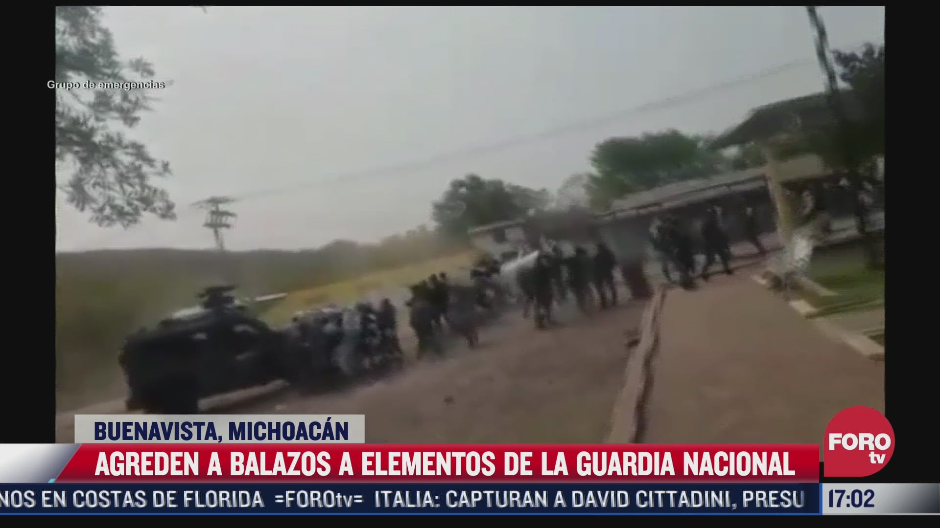 agreden a balazos a elementos de la guardia nacional en michoacan