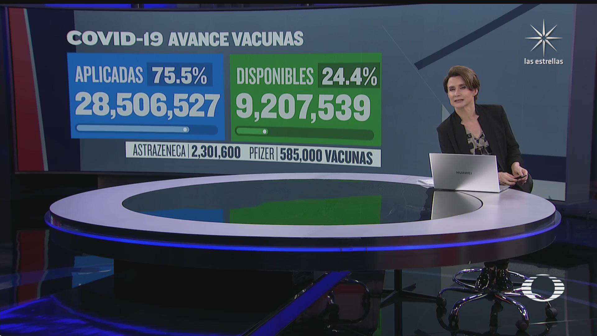arriban mas vacunas a mexico suman mas de 9 millones de dosis