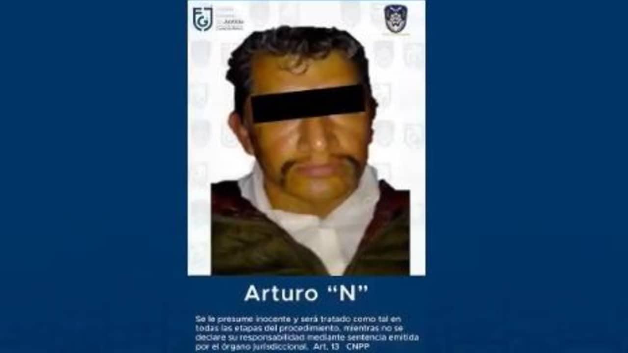 Arturo 'N' es detenido en la Ciudad de México
