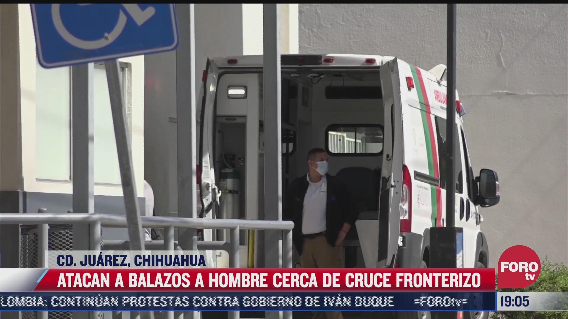 balean a hombre en ciudad juarez cerca de la frontera con eeuu