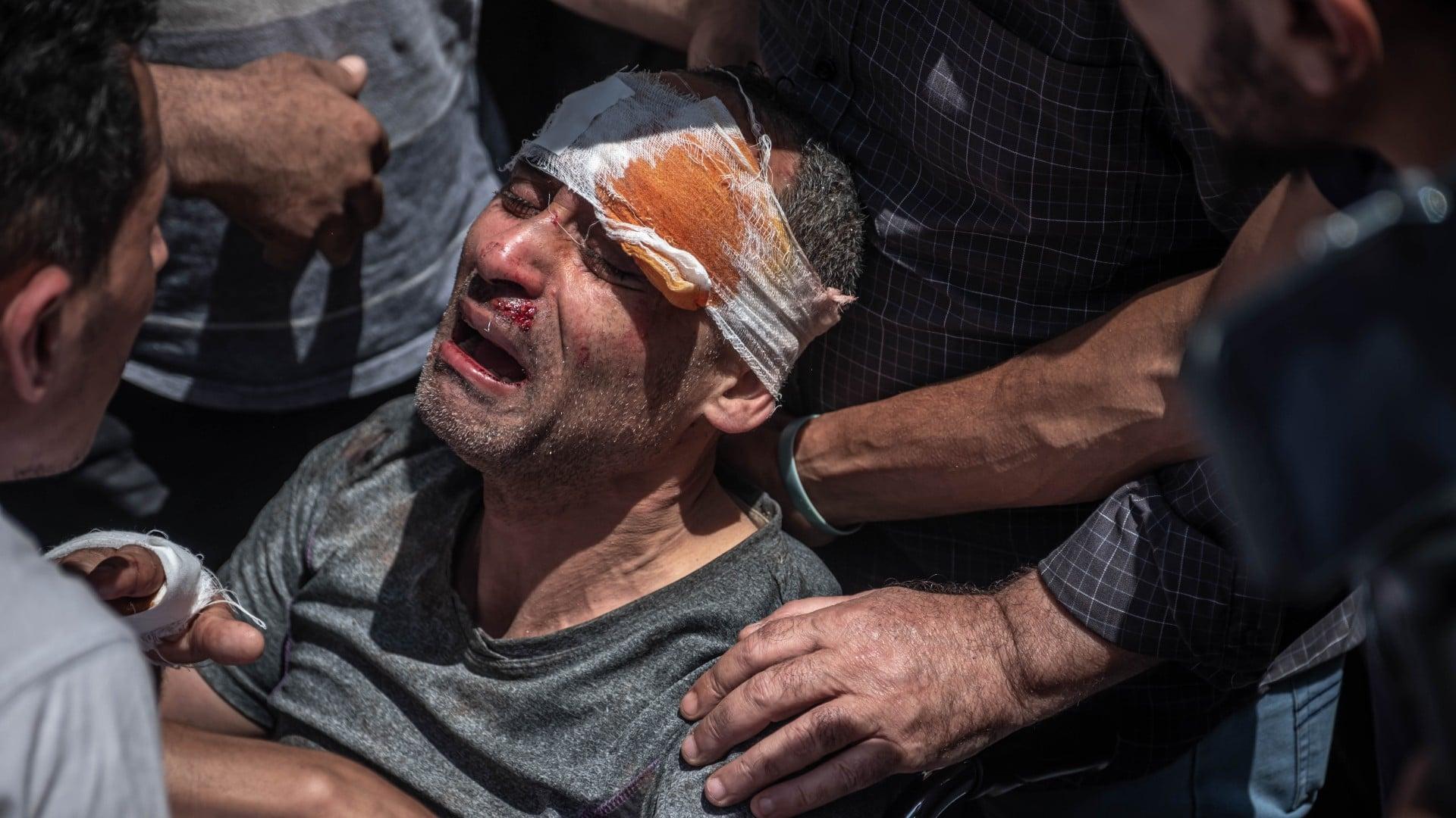 Bombardeo israelí en Gaza deja a 33 muertos, 8 de ellos niños