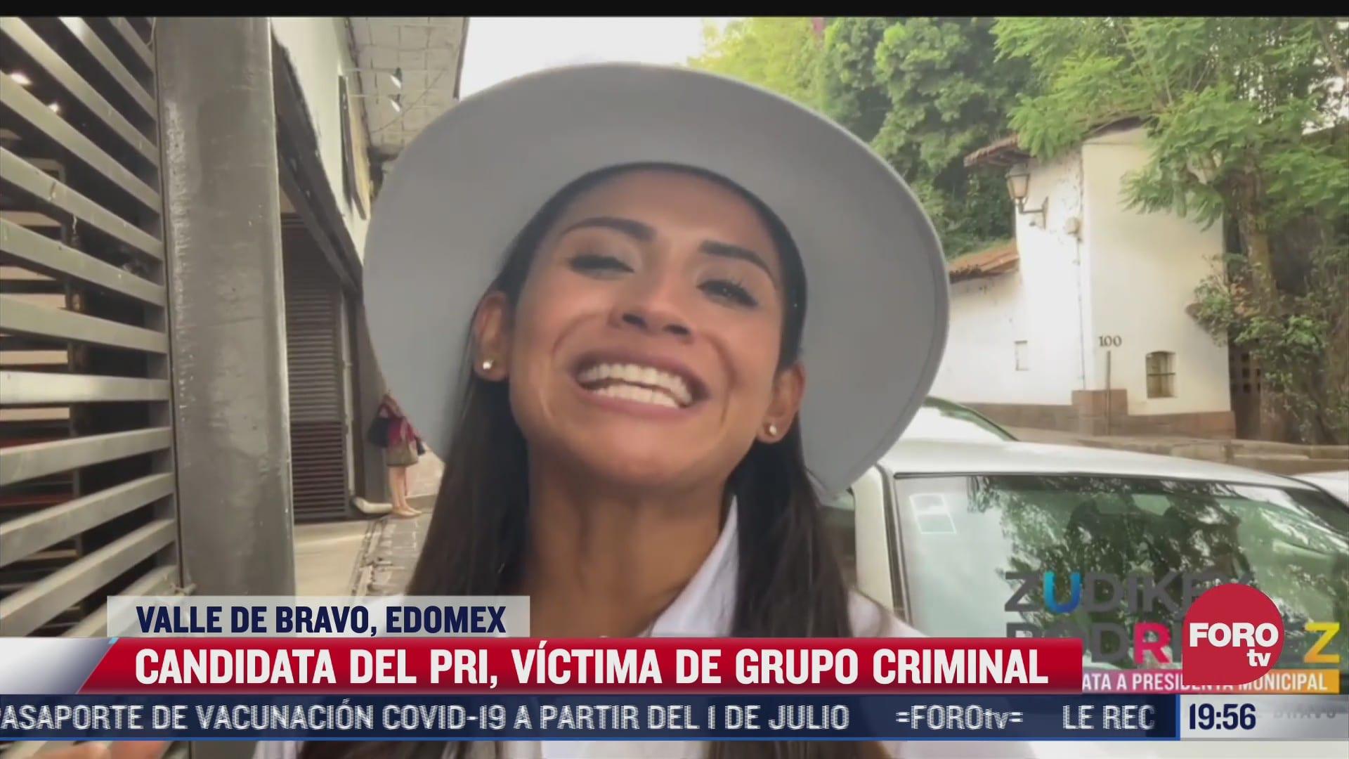 candidata del pri en valle de bravo victima del crimen organizado