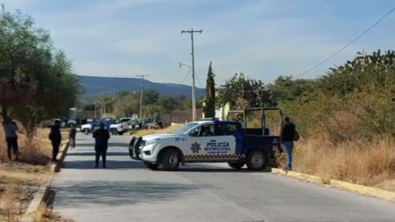 La agresión ocurrió sobre la avenida Ponciano Vega, al sur del municipio de Moroleón (FOROtv)