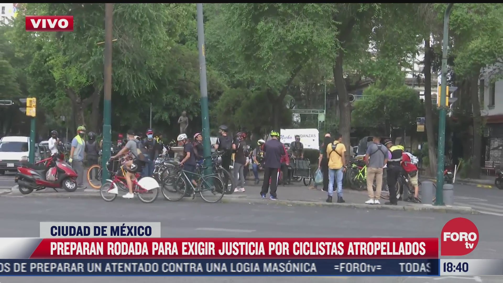ciclistas rodaran rumbo a colonia claveria para exigir justicia