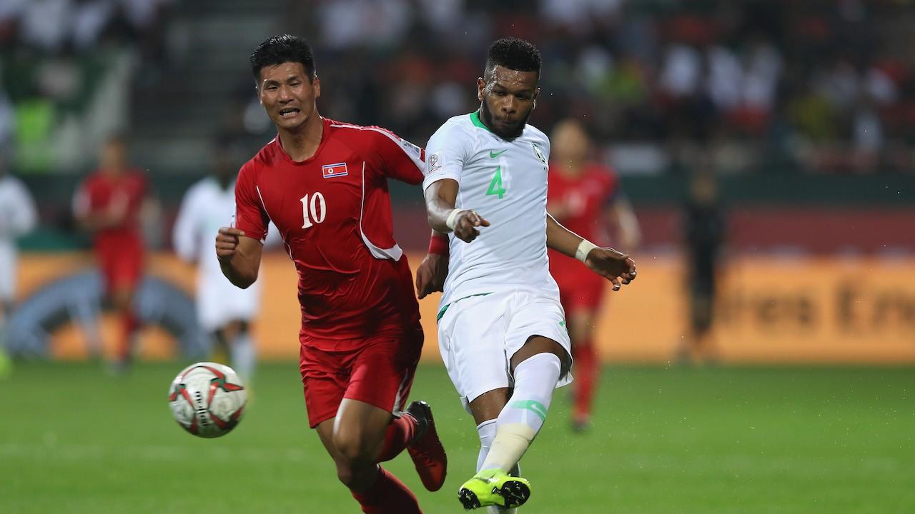 Jugador de la selección de futbol de Korea del Norte (Getty Images)